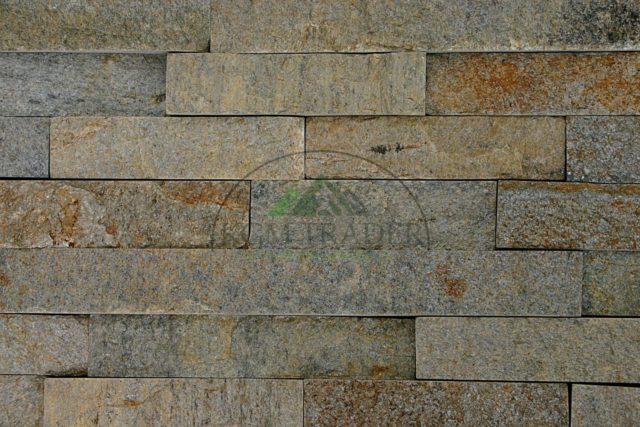 kamień regularny bez fugowy beżowy