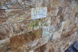 Kamień na Elewacje regularny złoto pustyni