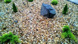 Kamień Dekoracyjny żwirek kwarcytowy miodowy